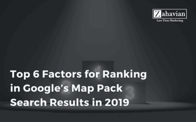 Top 6 Factors for Ranking in Google's Map Pack Search Results in 2019