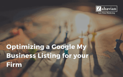 Optimizing a Google My Business Listing for your Firm