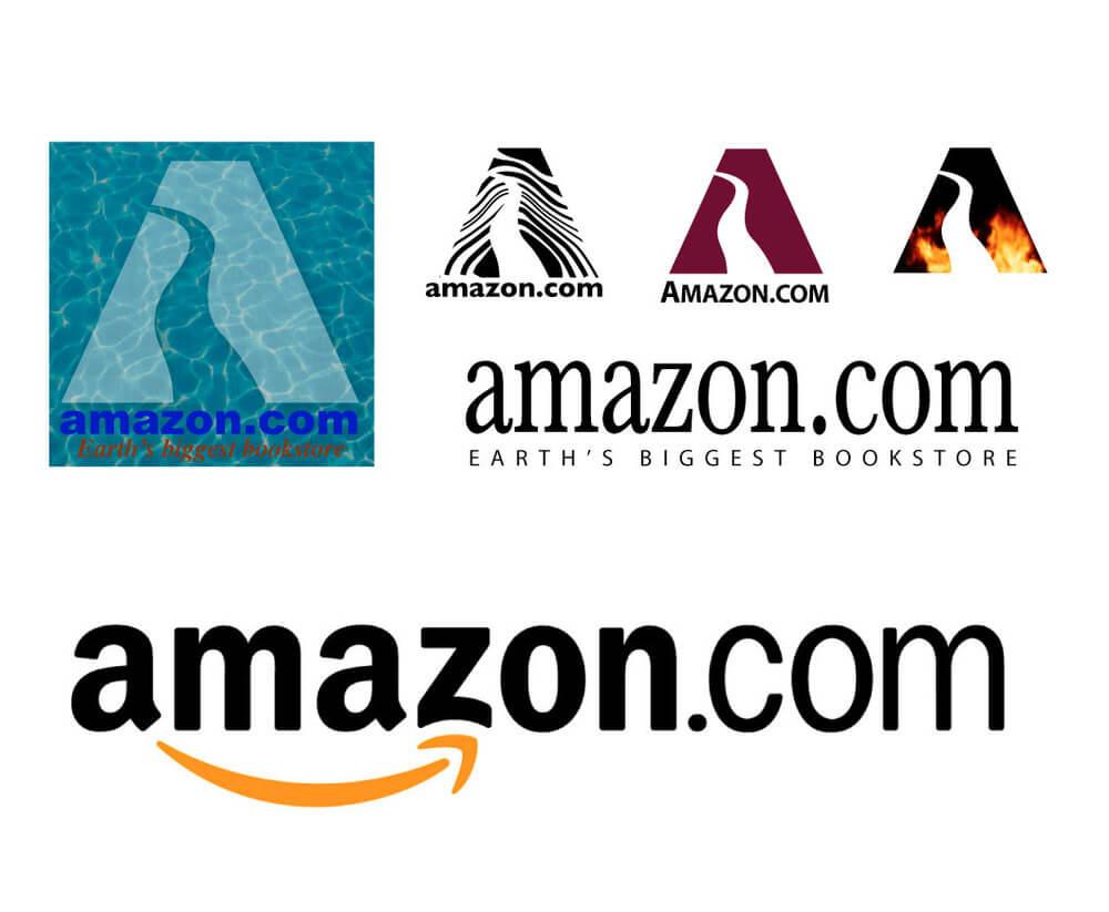 Evolution of Amazon's logo and brand