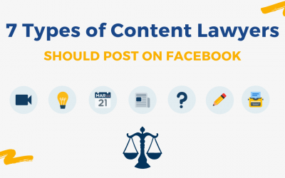7 Types of Content Lawyers Should Post on Facebook
