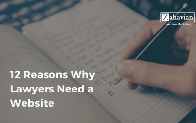 12 Reasons Why Lawyers Need a Website