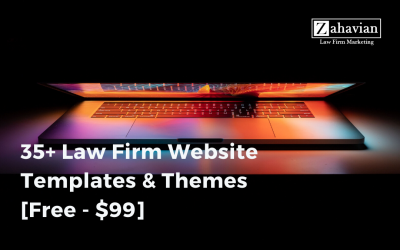35+ Law Firm Website Templates & Themes [Free – $99]