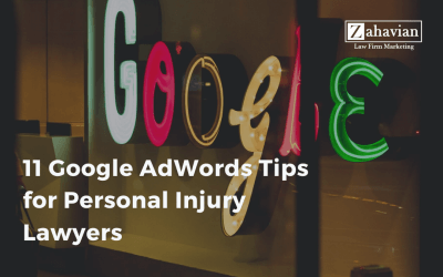 11 Google AdWords Tips for Personal Injury Lawyers