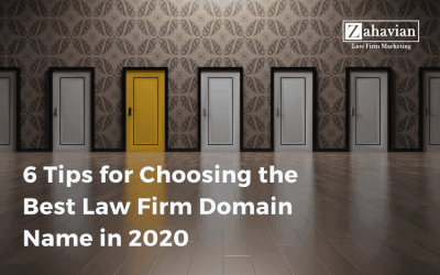 6 Tips for Choosing the Best Law Firm Domain Name in 2020