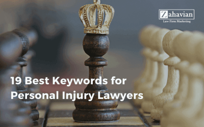 19 Best Keywords for Personal Injury Lawyers
