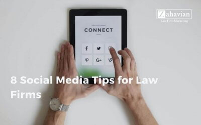 8 Social Media Tips for Law Firms