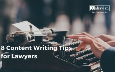 8 Content Writing Tips for Lawyers