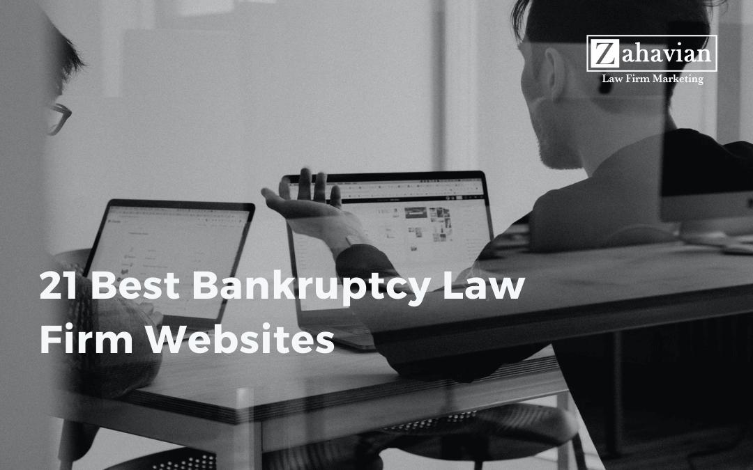21 Best Bankruptcy Attorney Websites